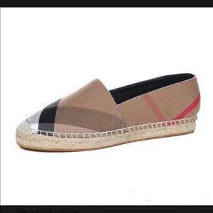 Shoes - plaid espadrilles